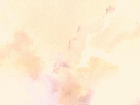 de colores: Fondo en colores pastel con suave textura tinta amarilla sobre papel de cáñamo Foto de archivo