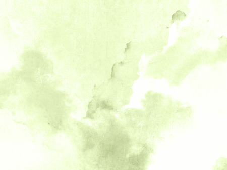 Watercolour background green - pastel spring texture abstract 写真素材
