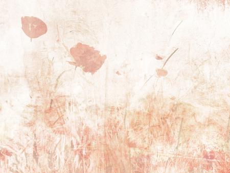 Flower background watercolor - soft floral texture in pastel colors Standard-Bild