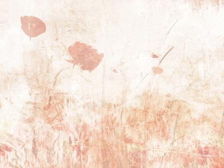 soft colors: Flower background watercolor - soft floral texture in pastel colors Stock Photo