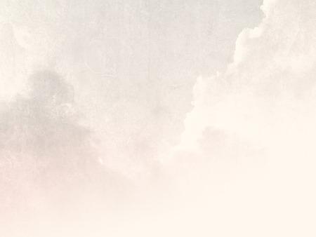 Fondo del cielo pálido en el estilo suave de la vendimia Foto de archivo - 53540917