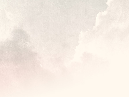 Pale sky background in soft vintage style