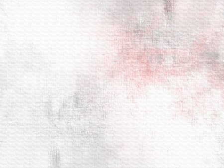 Soft watercolor background white grey pink - abstract pale painting Archivio Fotografico