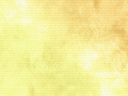 Yellow green watercolor background with soft gradient 免版税图像