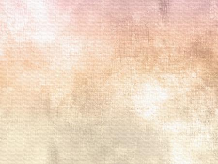 Aquarell Hintergrund weich Jahrgang mit hellbeigen rosa Farbverlauf