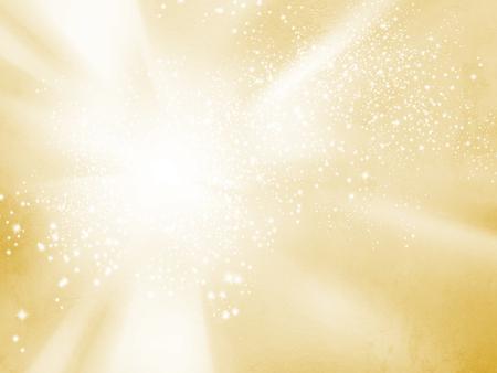 Gele starburstachtergrond - abstract zonne en energieconcept