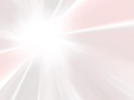 パステル背景要約 - ソフト ピンク サンバースト