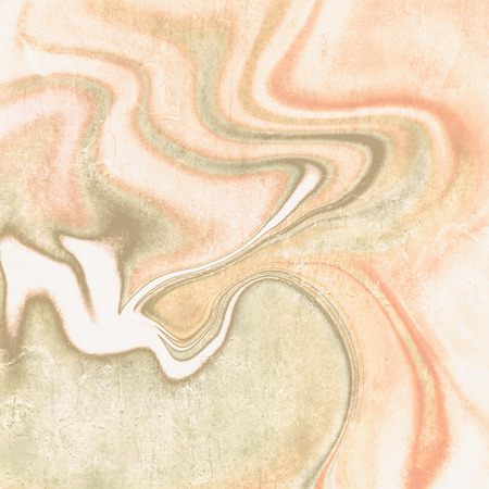 soft colors: Abstract vintage background lines in soft orange green pastel colors