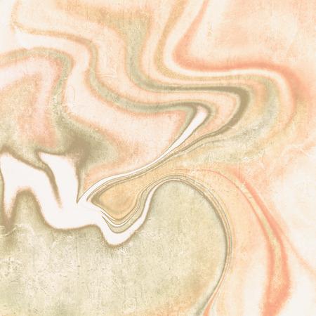 colores pastel: líneas de fondo de la vendimia abstracto en naranja colores pastel verde suave