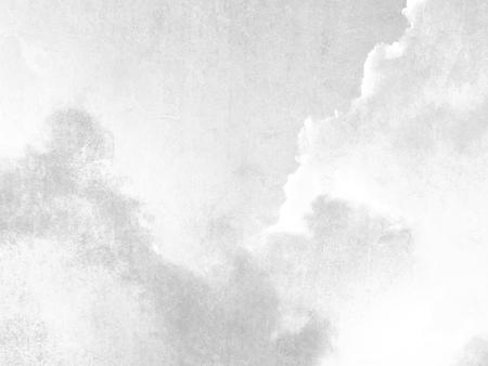 Gray sky texture background retro in soft pale watercolor Standard-Bild