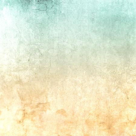 ソフトな風合いと抽象的なグリーン ベージュ レトロ背景グラデーション