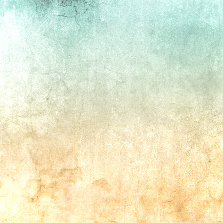watercolor texture: Abstract green beige retro background gradient with soft texture