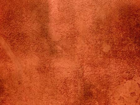 Rust orange rot Hintergrund Zusammenfassung - dunkel Terrakotta Gips Wand Textur