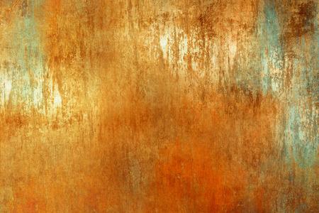 オレンジ色の抽象的な背景テクスチャ グランジ