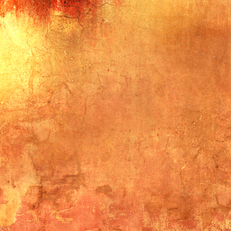 orange texture: Grunge orange background - abstract terracotta texture Stock Photo