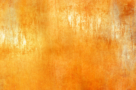 polished floor: Yellow orange background texture abstract Stock Photo