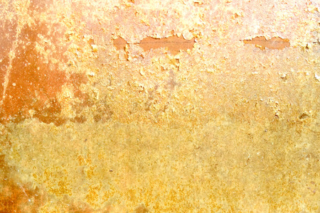 chipped: Old wall texture - abstract grunge yellow background