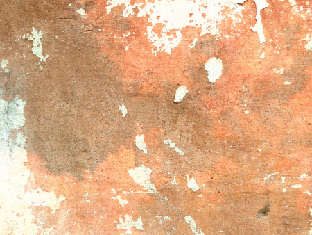chipped: Orange brown background texture grunge Stock Photo