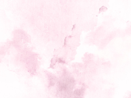 Pink watercolor background texture Archivio Fotografico