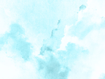 Blue watercolor background texture