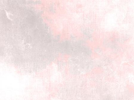淡い水彩の抽象パステル朝の空で柔らかいピンクの灰色の背景テクスチャ 写真素材