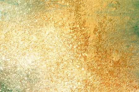 polished: Gold background with sparkling glitter effect - abstract Christmas texture