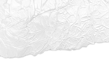 しわくちゃのシルバー箔のテクスチャ  イラスト・ベクター素材
