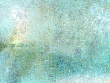 Blue green background texture grunge - abstract digital painting design Stock Photo