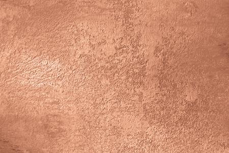 Miedziane tło z szczotkowaną polerowaną teksturą