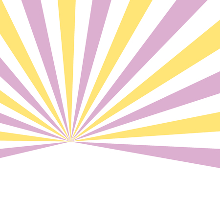 Starburst background yellow pink - minimal abstract spring pattern design 向量圖像