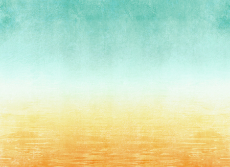 Retro beach background - abstract vacation theme