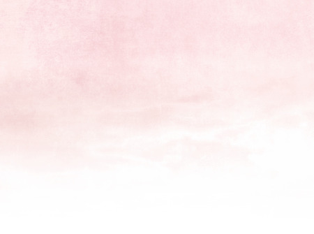 Watercolor background gradient - soft pastel sky texture in pale pink color fading to white