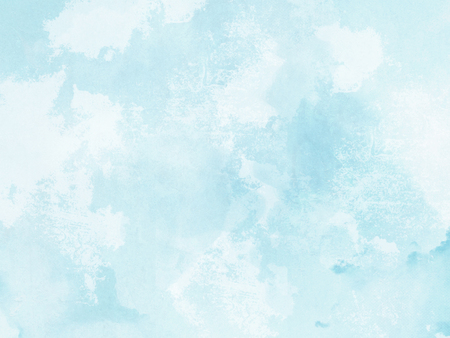 Watercolor background - abstract pastel blue texture Reklamní fotografie