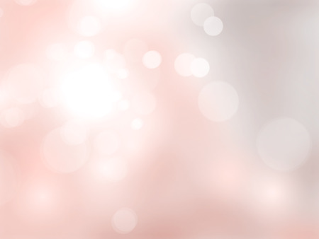 Pastel pink background with bokeh lights