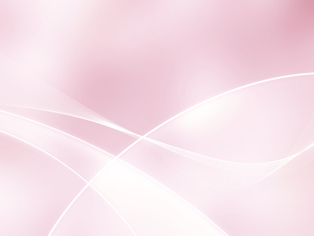 Abstract soft pink background with curved lines