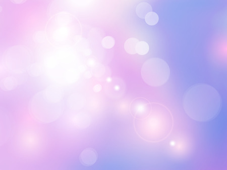 Abstract pink purple background with soft blurred bokeh lights