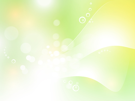 Green pastel background with soft bokeh lights - abstract spring design 일러스트