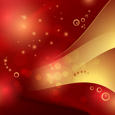 Red gold background - elegant abstract luxury template 일러스트