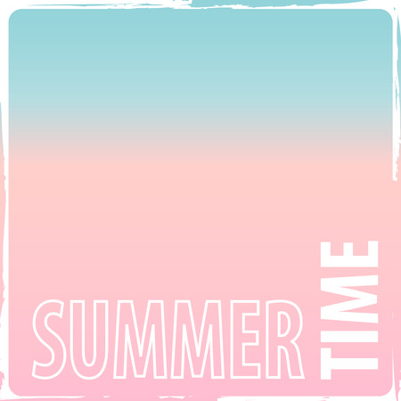 Abstract spring and summer background - clean pink blue candy colored gradient