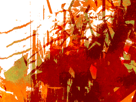 Abstract modern digital painting background Archivio Fotografico - 117408669