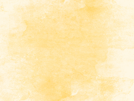 Soft yellow watercolor background - abstract pastel texture