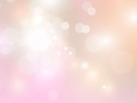 Soft romantic background with pastel bokeh lights 일러스트