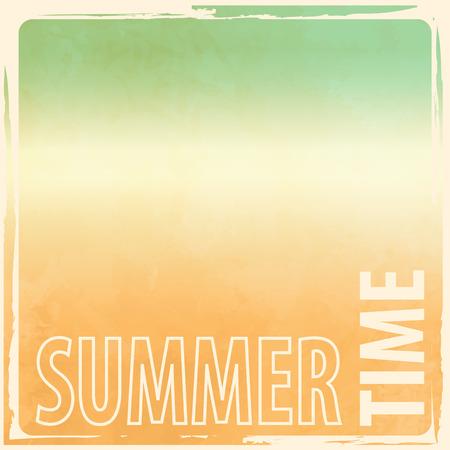 Summer background - abstract retro beach gradient Illustration