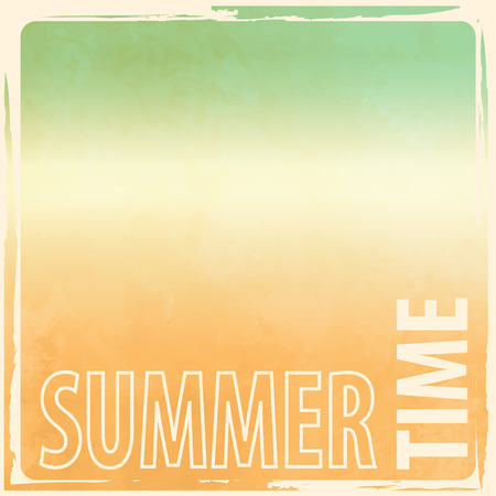 Summer background - abstract retro beach gradient Illustration