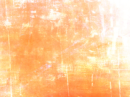 Orange background texture - abstract modern digital painting in grunge style Stock Photo