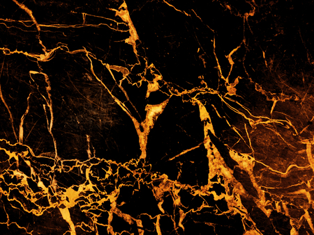 Black gold background with abstract marble texture