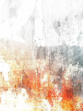 Light grunge background - abstract modern art painting digitally created