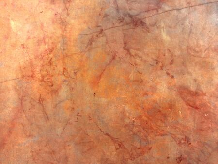 Marble slab - orange brown abstract grunge background - natural polished stone texture Stok Fotoğraf