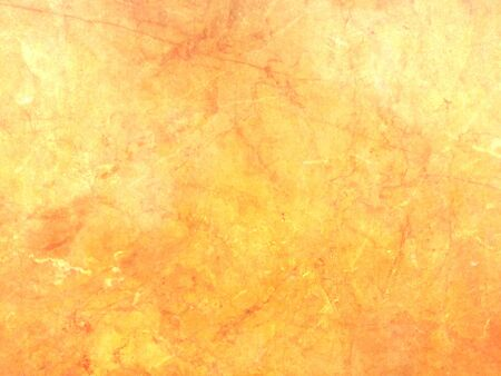 Orange yellow background with soft marble texture - abstract polished stone plate