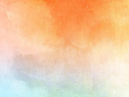 Watercolor background - abstract pastel color gradient with soft texture